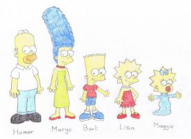 The Simpsons by TheAwesomeWorld
