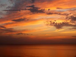 fire in the sky by WestMauE