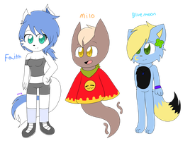 new ocs by xxDorky-Artist275xx