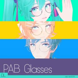 [MMD] PAB Glasses ( DL/Download) by DollyMolly323