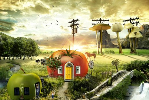 Fruit House 3 by 35-Elissandro