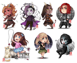 C - chibi batch 3 by zero0810