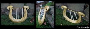 The Goddess Harp by Emma-Is-A-Leaf