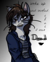With an aching in my head by StarryEvening