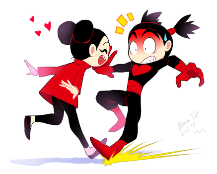 Pucca and Garu by BloomTH