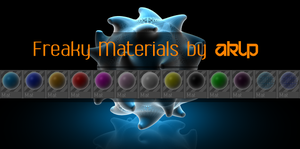 Freaky Material Pack by AKLP