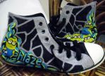 Despicable Me Inspired Shoes by ffdiaries958