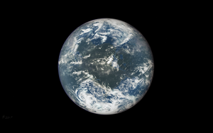 Earth-like Planet Test 1 by Alpha-Element