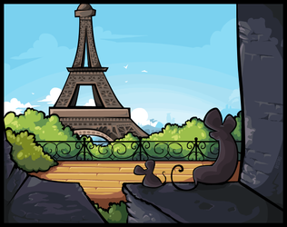 Waking Up In Paris by SheSaidNevermore