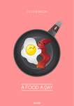1. Eggs and Bacon - A Food A Day by SloorpWorld