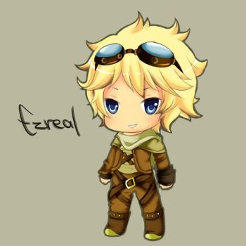 Ezreal - League of Legends by Cherrycake4