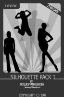 Silhouette Brush Pack 1 by An1ken