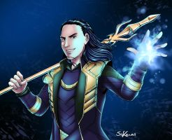 Loki is back! by StudioKawaii