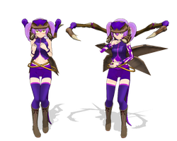 MMD Zergling Moe Model DL by xxSoulsealerxx