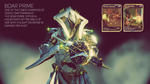 Warframe : Boar Prime Giveaway [Closed] by TheSpaceKnight