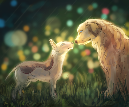 dogs love by AlaxendrA