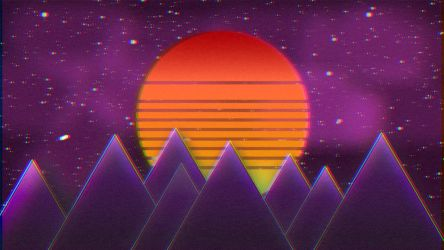 Just chill with some Synthwave by HelloimKiki