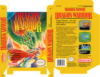 Dragon Warrior (no sleeve) by Tallimos