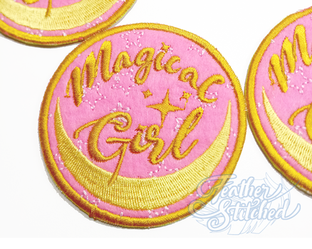 Magical Girl Patches by FeatherStitched