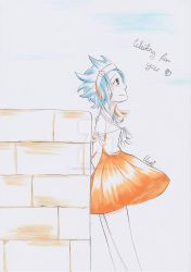 [Inktober] Levy by CrystalMelody-FT