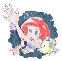 Ariel - Out of the sea by Nippy13