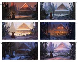 Muriel Mouse's Winter Shelter - Color Experiments by Chris-Karbach