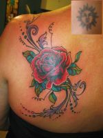 Rose Cover by VoodooKatTattooer