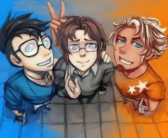 Trio of Gay by BloodnSpice