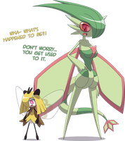 Flygon Veronica + Ribombee Carol [Commission]