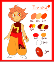 Fire Opal Ref by SWAG-Daddy