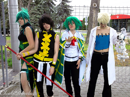 Shaman King Team by ChiakiHanabusa