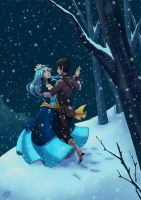 Dancing in the snow by JackPot-84