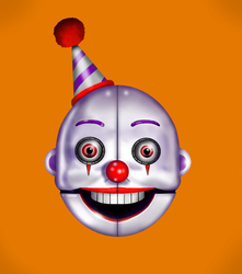 My version of ennard mask by megalon1337