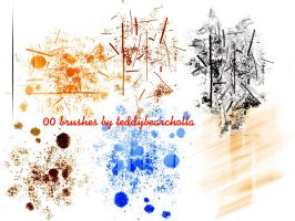 00 brushes by teddybearcholla