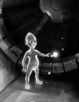 Transdimensional Alien by IonfluxDA