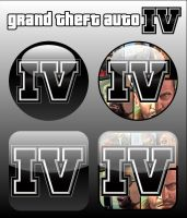 Grand Theft Auto IV Icons by firba1