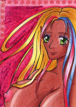 ACEO #003 -  Skie by Elythe