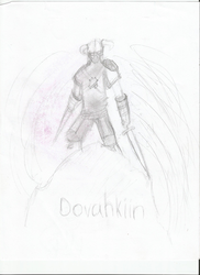 Dovahkiin by destructoboy325