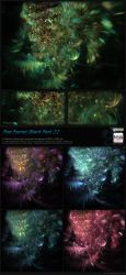 Fractal Stock Pack 22 (transparent PNG) by Hexe78