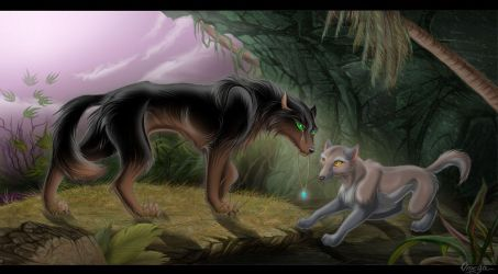 wolves by OmegaLioness
