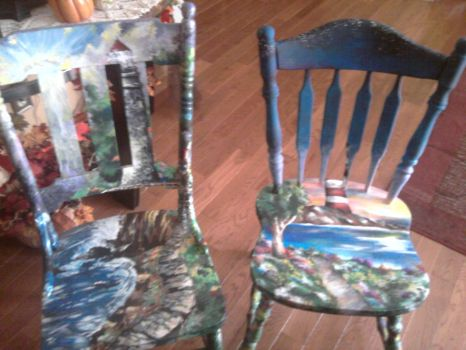 Duo Chairs by lilArtiste
