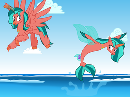 Ripple Effect (Movie Sea Pony Style) by MLP-TrailGrazer