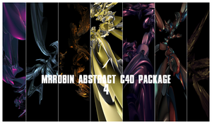 MrRobin abstract c4d package 4 by MrRoBiN