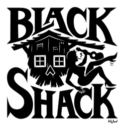 Black Shack Logo by Huwman