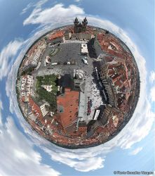 The world from Prague by flavionet