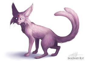 Eevee Week - Espeon by Imaginary-Rat
