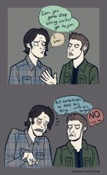 Supernatural - A Sam and Dean comic by taconaco