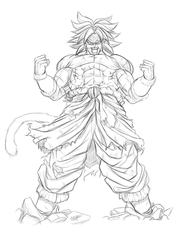Broly DBS by ElFabulosoVasquez