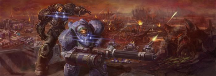 StarCraft 2 by TheNewHorde