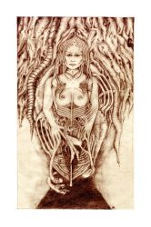 Tribute to Giger -rescanned by maxine